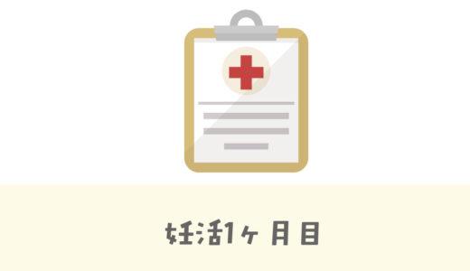妊活スタート時の体の状態記録【1カ月目】
